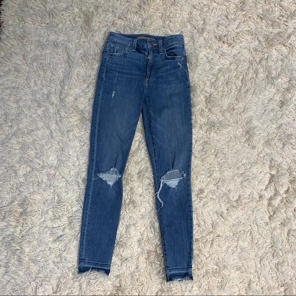 Joe's Ripped Skinny Jeans